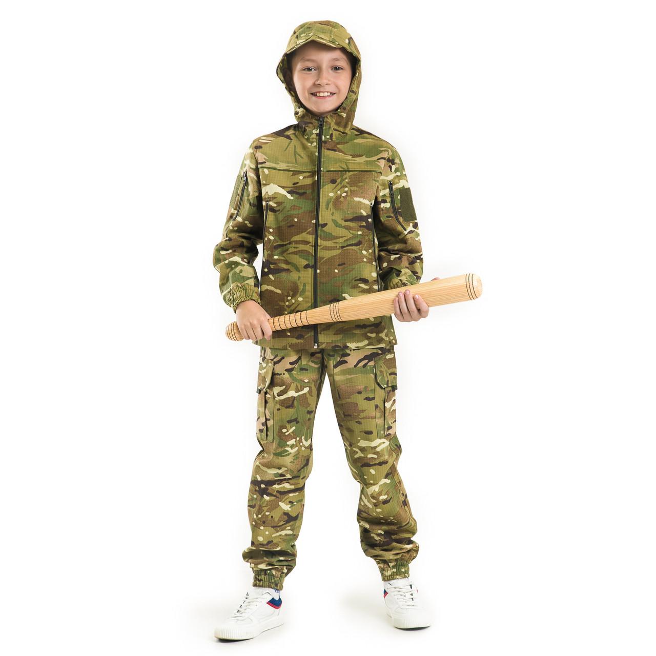 Детская камуфляжная одежда костюм Скаут камуфляж MTP