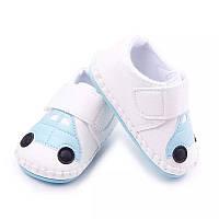 Детские белые пинетки кеды, кроссовки для новорожденного мальчика 3, 6, 9, 12, 18 месяцев