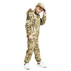 Детский камуфляж костюм для мальчиков Скаут цвет Пиксель, фото 2