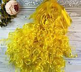 Карнавальный парик волна 50 см (красный, синий, желтый, салатовый), фото 4