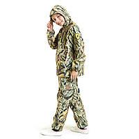 Детский камуфляж костюм OUTDOOR теплый Вулкан Камыш рост 128-134 см
