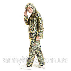 Детский камуфляж костюм OUTDOOR теплый Вулкан Камыш