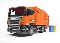 Игрушка Bruder Мусоровоз Scania R-R-series М1:16