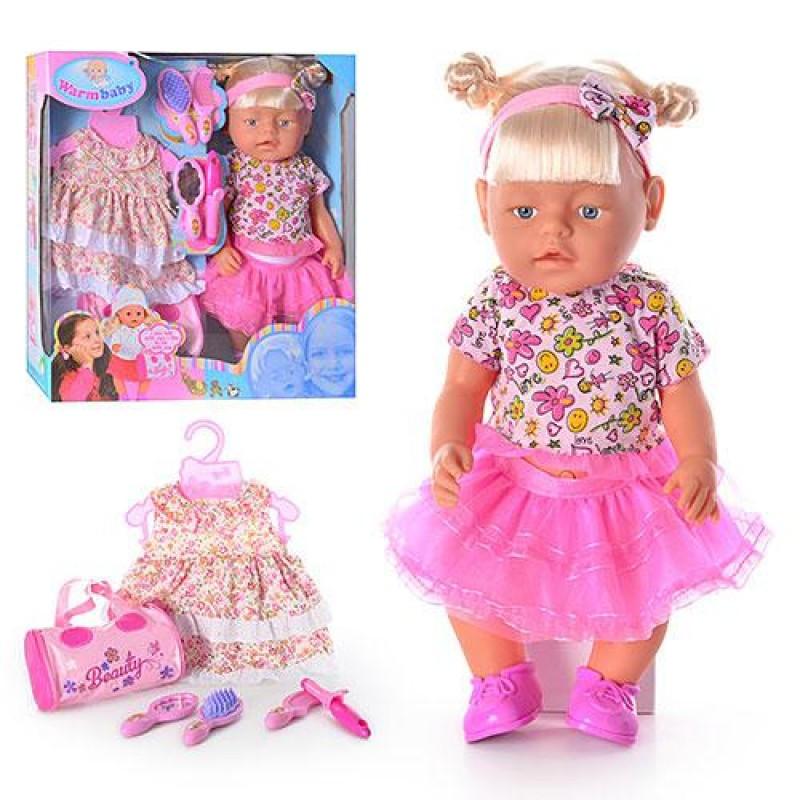 Кукла, 42см, одежда, аксессуары, звук (англ), батар., в кор., 44*40*12см