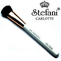 Кисть для  нанесения хайлайтера и сухой коррекции Stefani Carlotte S-204