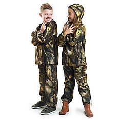 Детский камуфляж костюм OUTDOOR теплый Вулкан Дубок