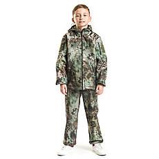 Детский камуфляж костюм OUTDOOR теплый Вулкан Soft-Shell Kryptek, фото 3
