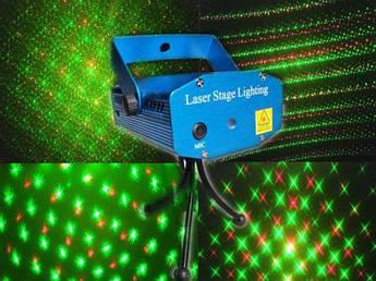 Лазерний проектор Mini Laser stage lighting