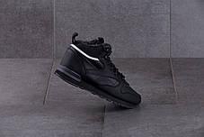 Мужские кроссовки Reebok Classic Black ( Реплика ) Остался 44 размер, фото 3