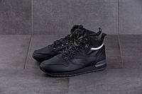 Мужские кроссовки Reebok Classic Black ( Реплика )