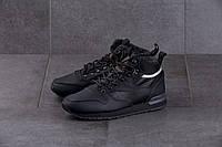 Мужские кроссовки Reebok Classic Black ( Реплика ) Остался 44 размер