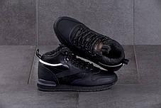 Мужские кроссовки Reebok Classic Black ( Реплика ) Остался 44 размер, фото 2