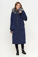 Куртка женская(пуховик) синий KIRO TOKAO (Разм 50,52,54,56 ).