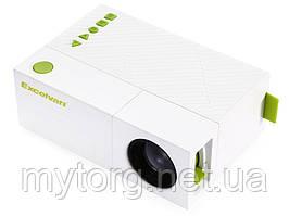 Мини проектор Excelvan YG310 портативный  Белый