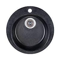 Мойка гранитная Fosto D470 SGA-420 черный