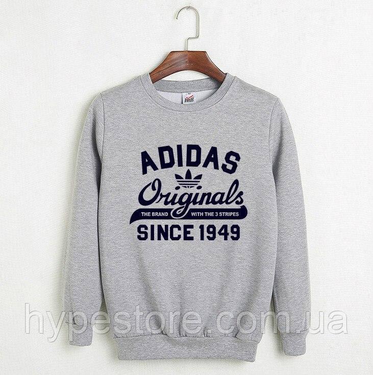 meet c9bce 2d81b Мужской зимний спортивный свитшот на флисе, кофта Adidas Originals, Реплика  - Интернет-магазин