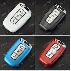 Пластиковый чехол  для ключа Hyundai i10,i20,i40,Accent,Elantra,Sonata Tucson,Santa Fe,VERNA,Genesis,Getz,IX35