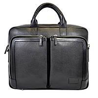 Портфель BOND 1085-281 кожаный Черный