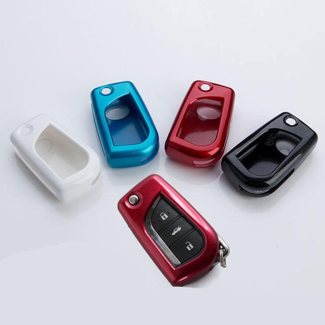 Пластиковый чехол для ключа Toyota Yaris,Auris,Highlander, Land Cruiser,Rav4,Camry,Corolla, Avalon,Avensis