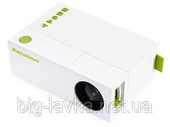 Проектор Led Projector YG310 портативный  Белый