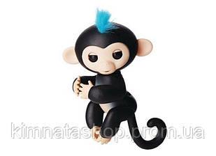 Ручна мавпочка на бат. Happy Monkey інтерактивна (чорний)