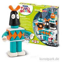 """Подарочный набор Фимо Fimo KIDS """"Робот"""", 4шт.+стек+инструкция, фото 1"""
