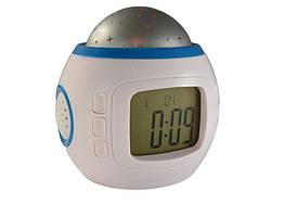 Светодиодные часы с проекцией звездного неба