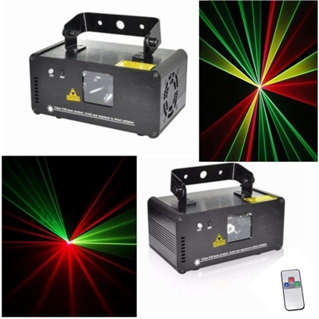 Диско лазер 3 цвета с пультом ДУ. DM-RGY250. Светоьузыка для дискотек и клубов