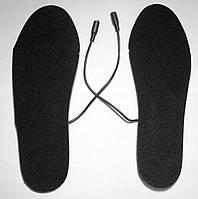 Стельки с подогревом с USB кабелем