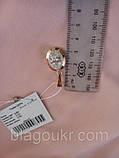 Підвіс срібний Дора з золотом, фото 4