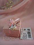 Підвіс срібний Дора з золотом, фото 3
