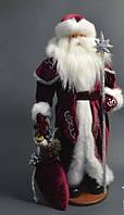 Дед Мороз (под елку) 53 см в серебре