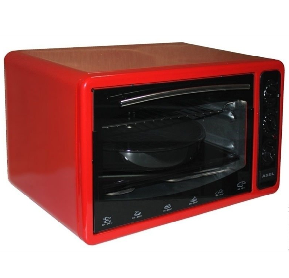 Электрическая тостер-печь Asel AF 40-23 красная