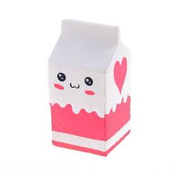 Игрушка антистресс SQUISHY Пакет молока (SQ02)