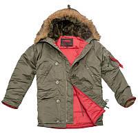 Куртка зимняя Slim Fit Аляска N-3B Olive 185da0b6ffa20
