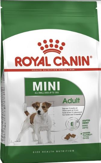 Сухой корм Royal Canin Mini Adult для собак мелких пород старше 10 месяцев 8 кг