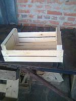 Ящики шпоновые деревянные для сливы сшитый на станке CORALLI в Гнивани