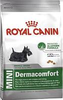 Royal Canin Mini Dermacomfort 800 г для маленьких пород с раздражением кожи