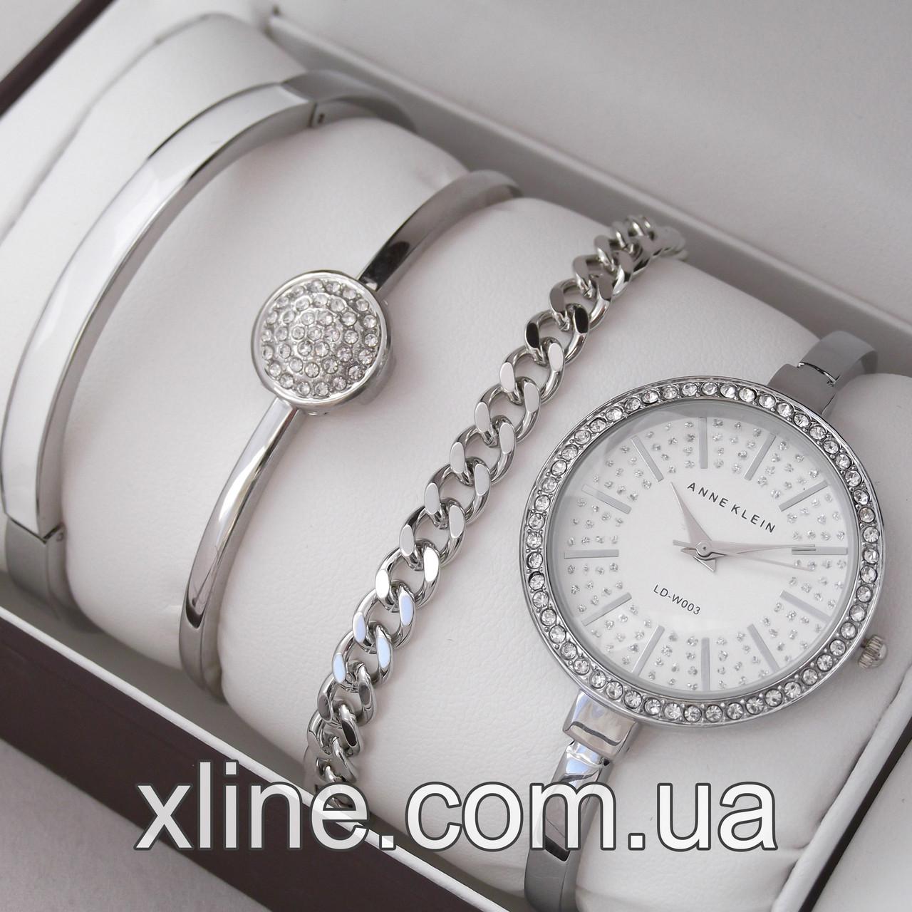 Жіночий наручний годинник Anne Klein M181 на металевому браслеті