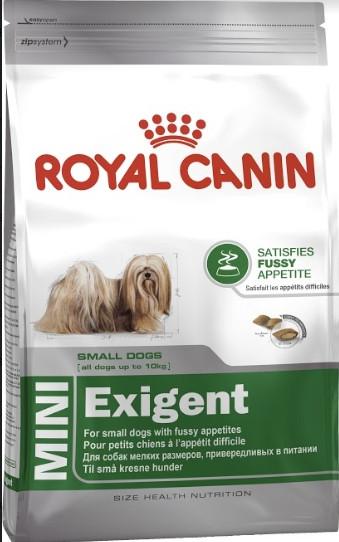 Royal Canin Mini Exigent 800 г для маленьких пород, привередливых в питании