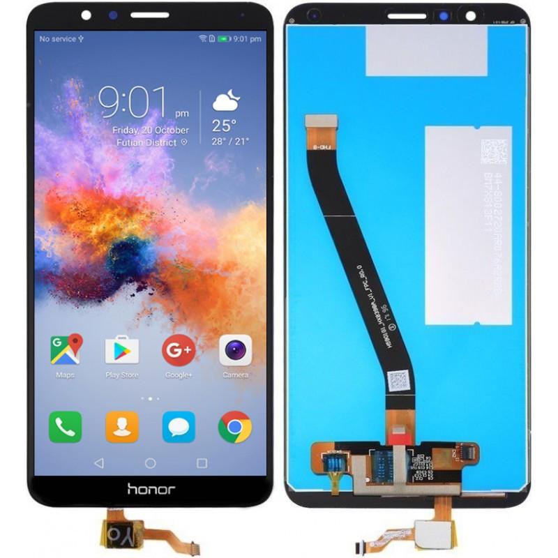 Дисплей для Huawei Honor 7X Dual Sim (BND-L21) + touchscreen, черный  Высокое качество