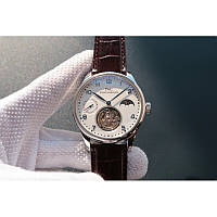 IWC Portuguese Tourbillon Power Reserve Moonphase Write-Brown