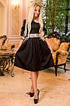 Женское платье с юбкой-солнце миди (3 цвета), фото 5