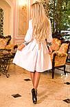 Женское платье с юбкой-солнце миди (3 цвета), фото 4