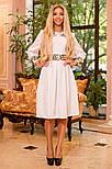Женское платье с юбкой-солнце миди (3 цвета), фото 8