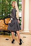 Женское платье с юбкой-солнце миди (3 цвета), фото 7