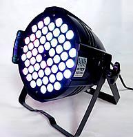 Профессиональный прожектор Led par 54x3 RGB multi