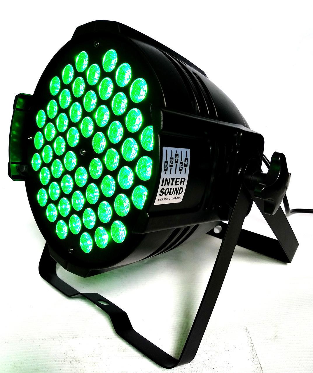 Прожектор для подсветки и заливки сцен Led Par 54*3 3в1 RGB