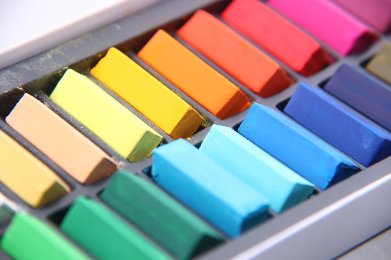 Подарочный набор мягкой пастели MUNGYO для рисования, работы с глиной для лепки, флористики, 24 шт.