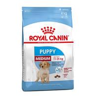 Сухой корм Royal Canin Medium Puppy для щенков средних пород 15 кг